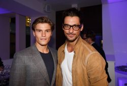 Oliver Cheshire and David Gandy