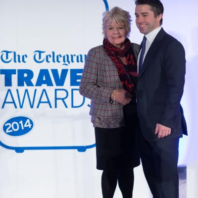 Judith Charmers - Telegraph Travel Awards 2014