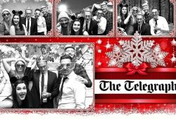The Telegraph Christmas Party 2017 B&W