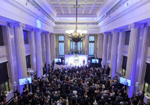 Awards at Banking Hall