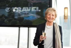 Sue Lawley @ The Telegraph Travel Awards