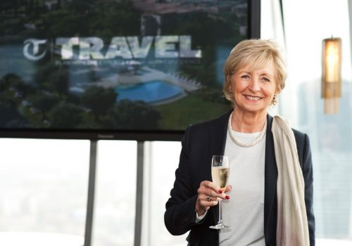 Sue Lawley @ The Telegraph Travel Awards