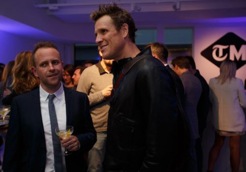 James Cracknell OBE at The Telegraph Men Launch