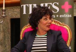Times+ Lit Salon with Ruby Wax
