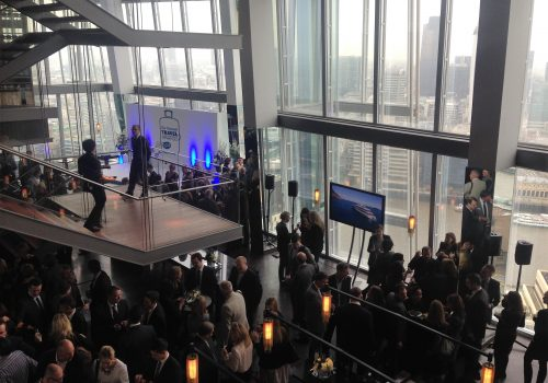 Awards at The Shard