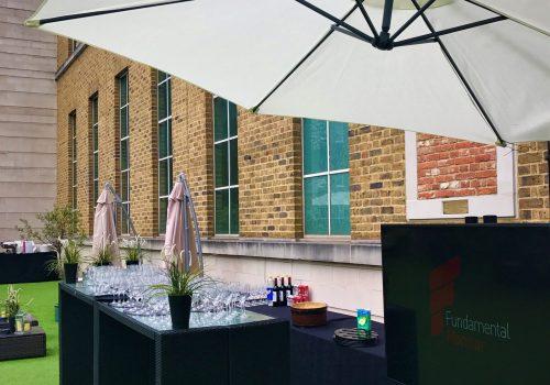 Client Summer Party Set Up