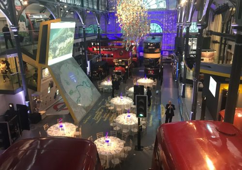 Dinner at The London Transport Museum