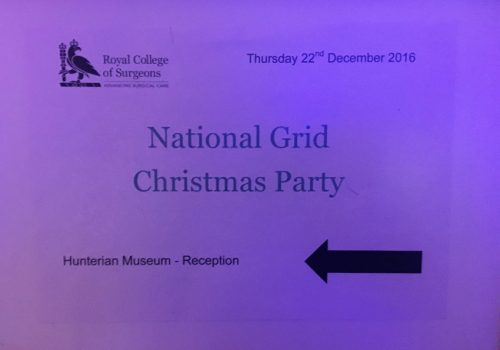 National Grid Christmas Party
