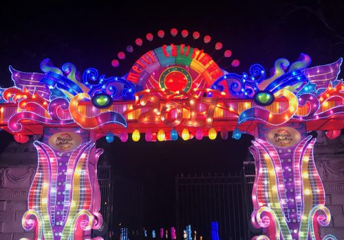 Magical Lantern Festival 2017_Entrance