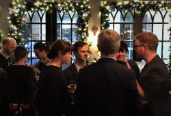 Mix and Mingle Magcian at Client Christmas Party