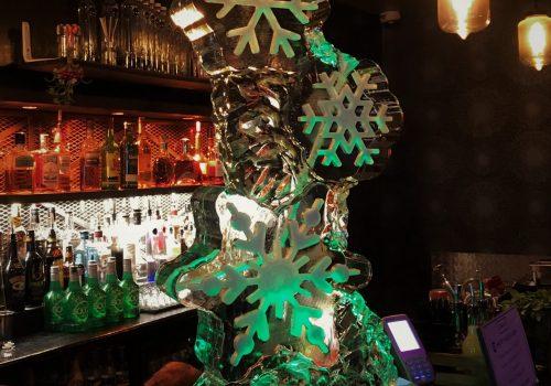 Snowflake Vodka Luge