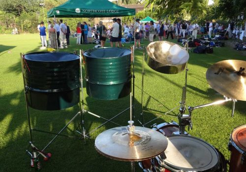 Steel Band at Client Summer Party
