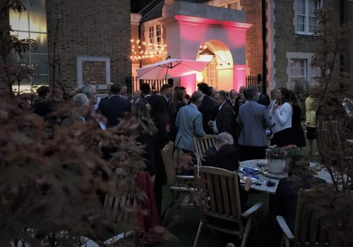 Summer Evening Drinks Reception