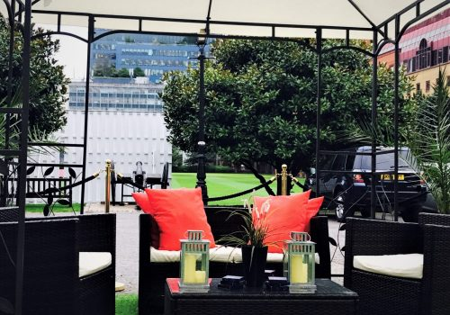 Summer Party Seating