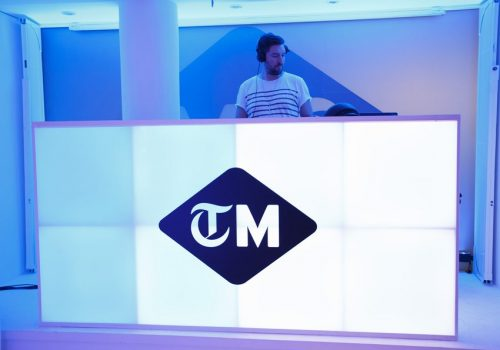 DJ Olly Mundy at The Telegraph Men Launch Party