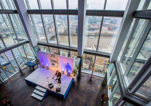Telegraph Travel Awards @ The Shard