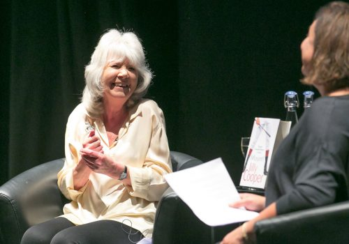 Author Jilly Cooper at Times+ Event