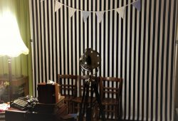 Vintage Photobooth at Client Christmas Party