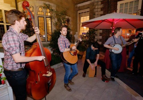 Live Band at Client Summer Party