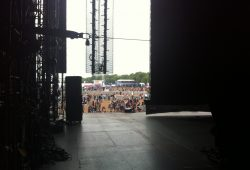 Stage at The London Olympics in Hyde Park