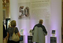 Sunday Times Magazine's 50th Anniversary Exhibition in Manchester
